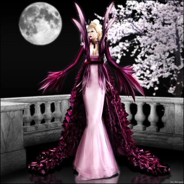 Linn Purplemoon MVW Gown