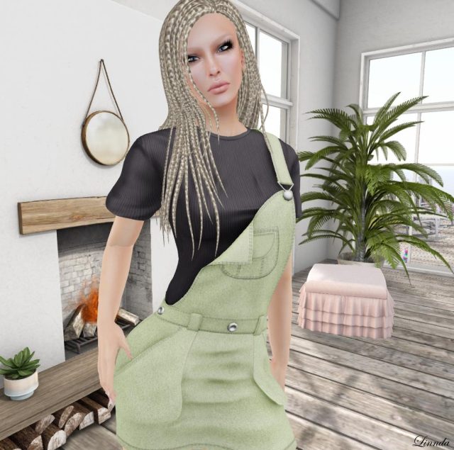 Ascend Overalls Mini Dress_002